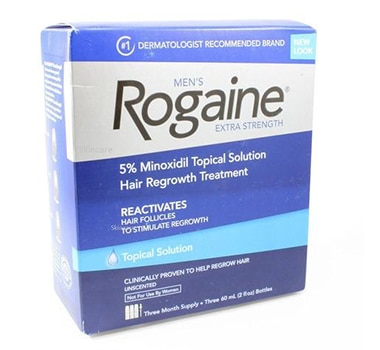 3 Month Supply Rogaine for Men Hair Regrowth Treatment, Extra Strength Topical Solution