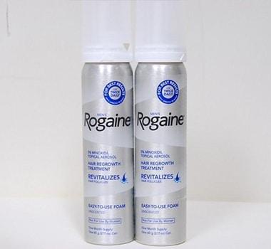 2 Months Supply Rogaine Foam Minoxidil 5% Men Hair Loss