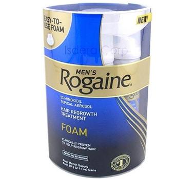 4 Months Supply Rogaine Foam Minoxidil 5% Men Hair Loss