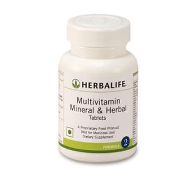 Herbalife Formula 2 Multivitamin Herbal and Mineral 90 Tablets