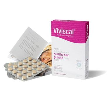 Viviscal #1 Hair Dietary Supplements Extra Strength Hair Nutrient Tablets, 60-Tablets